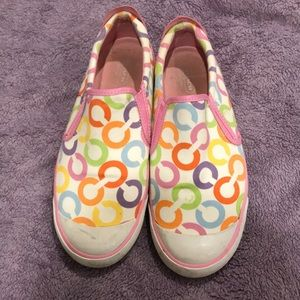 Coach Beale Multicolored Sneaker Slip-Ons